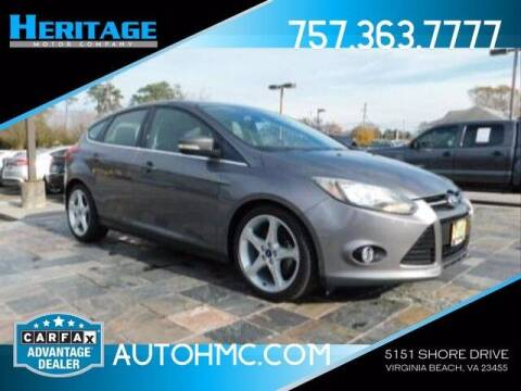 2012 Ford Focus for sale at Heritage Motor Company in Virginia Beach VA