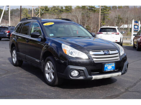 2013 Subaru Outback for sale at VILLAGE MOTORS in South Berwick ME