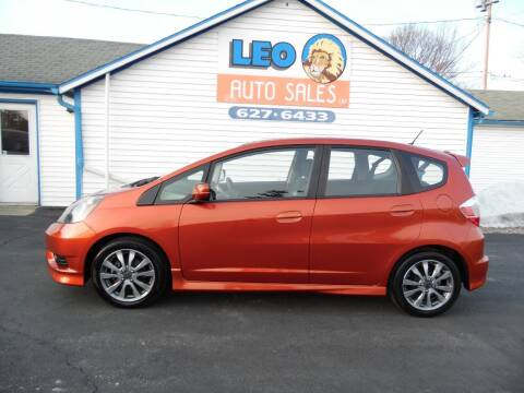 2012 Honda Fit for sale at Leo Auto Sales in Leo IN