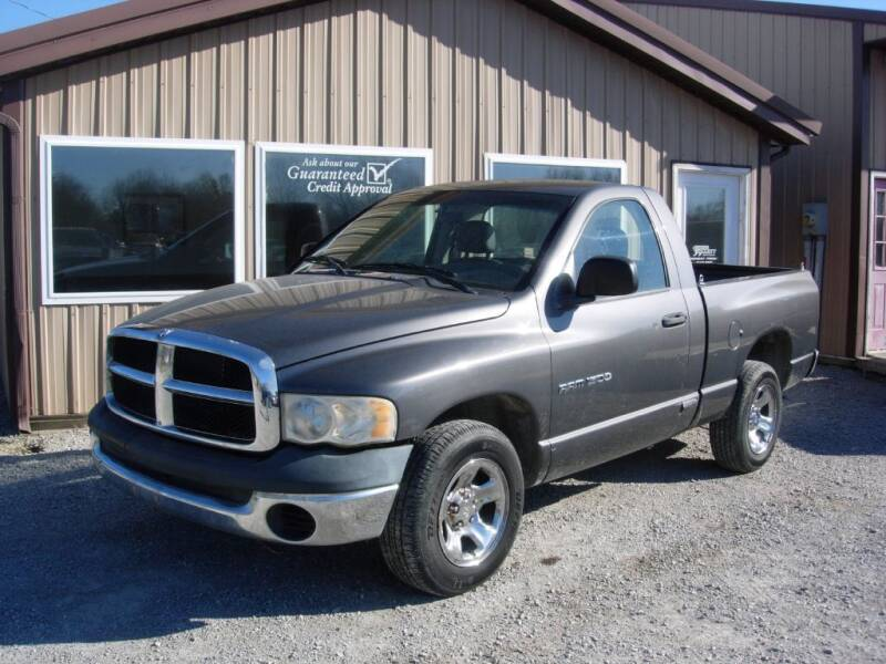 2004 Dodge Ram Pickup 1500 for sale at Greg Vallett Auto Sales in Steeleville IL