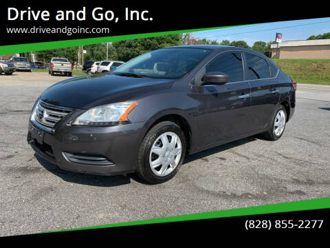 2014 Nissan Sentra for sale at Drive and Go, Inc. in Hickory NC