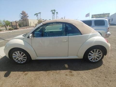 2008 Volkswagen New Beetle Convertible for sale at ACE AUTO SALES in Lake Havasu City AZ