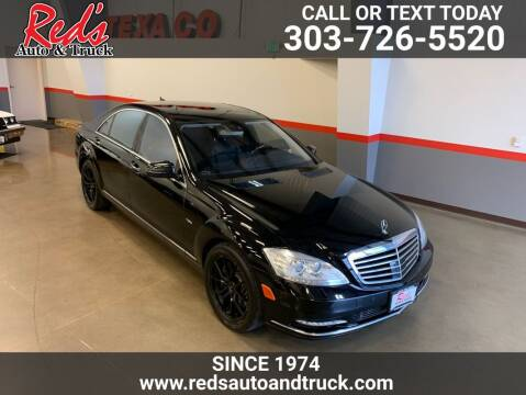2012 Mercedes-Benz S-Class for sale at Red's Auto and Truck in Longmont CO