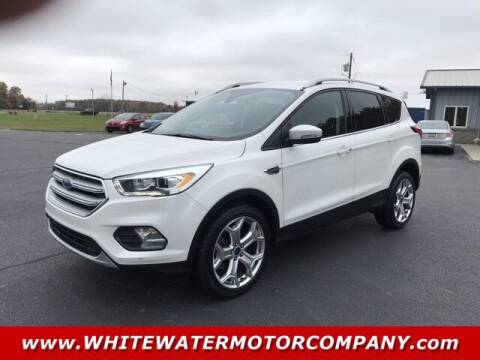 2019 Ford Escape for sale at WHITEWATER MOTOR CO in Milan IN