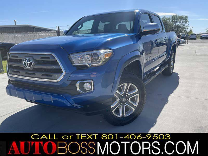 2016 Toyota Tacoma for sale at Auto Boss in Woods Cross UT