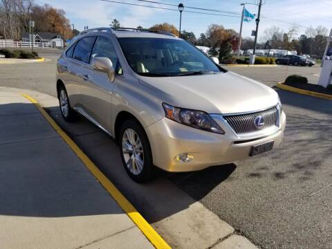 2011 Lexus RX 450h for sale at RVA Automotive Group in North Chesterfield VA
