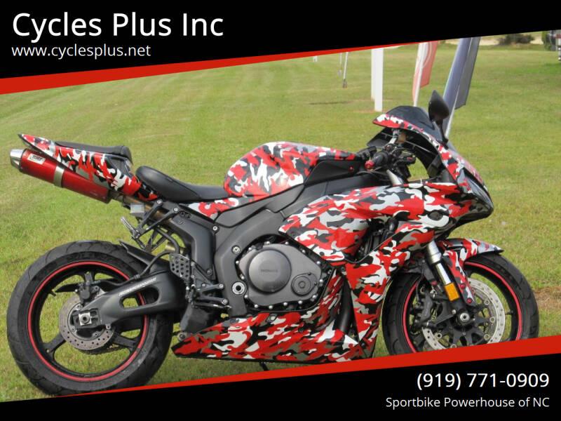 2007 Honda CBR 1000RR for sale at Cycles Plus Inc in Garner NC