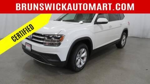 2019 Volkswagen Atlas for sale at Brunswick Auto Mart in Brunswick OH