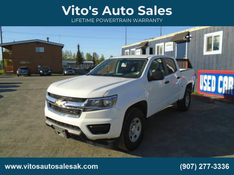 2017 Chevrolet Colorado for sale at Vito's Auto Sales in Anchorage AK
