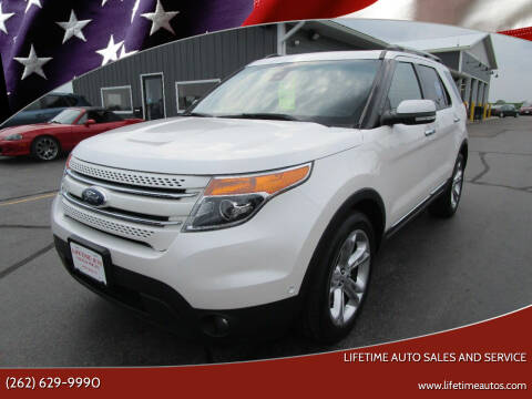2014 Ford Explorer for sale at Lifetime Auto Sales and Service in West Bend WI