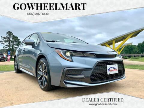 2020 Toyota Corolla for sale at GOWHEELMART in Leesville LA