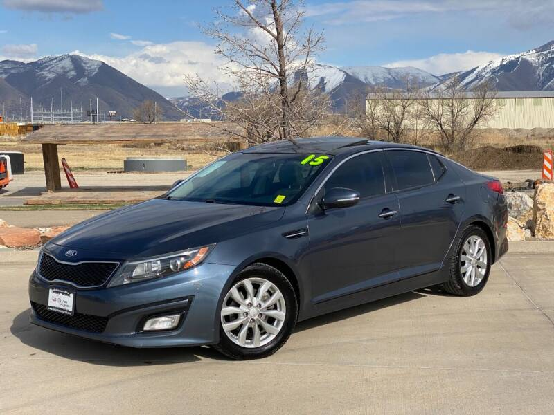 2015 Kia Optima for sale at Evolution Auto Sales LLC in Springville UT