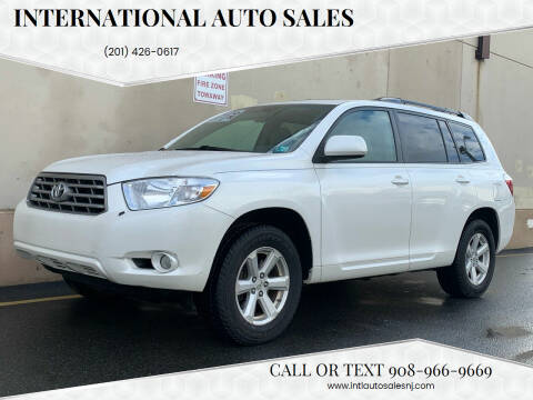 2010 Toyota Highlander for sale at International Auto Sales in Hasbrouck Heights NJ