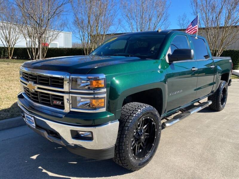2014 Chevrolet Silverado 1500 for sale at UNITED AUTO WHOLESALERS LLC in Portsmouth VA