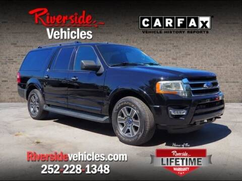 2017 Ford Expedition EL for sale at Riverside Mitsubishi(New Bern Auto Mart) in New Bern NC