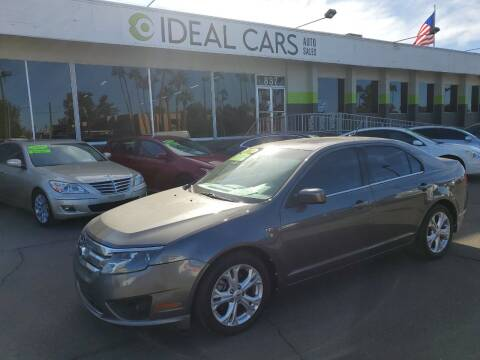 2012 Ford Fusion for sale at Ideal Cars Broadway in Mesa AZ