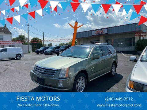2005 Cadillac SRX for sale at FIESTA MOTORS in Hagerstown MD