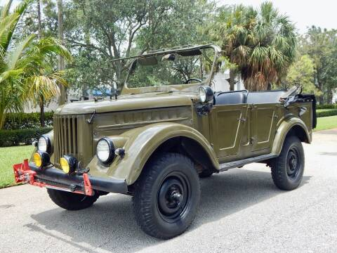 1971 GAZ RUSSIAN ARMY JEEP for sale at VE Auto Gallery LLC in Lake Park FL