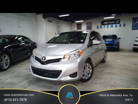 2014 Toyota Yaris for sale at Automaxx in Tampa FL