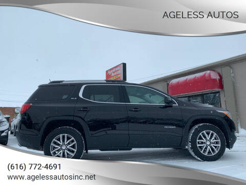 2018 GMC Acadia for sale at Ageless Autos in Zeeland MI