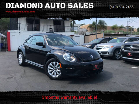 2017 Volkswagen Beetle for sale at DIAMOND AUTO SALES in El Cajon CA