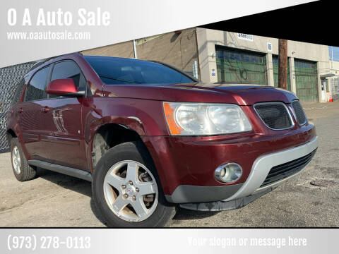 2008 Pontiac Torrent for sale at O A Auto Sale in Paterson NJ