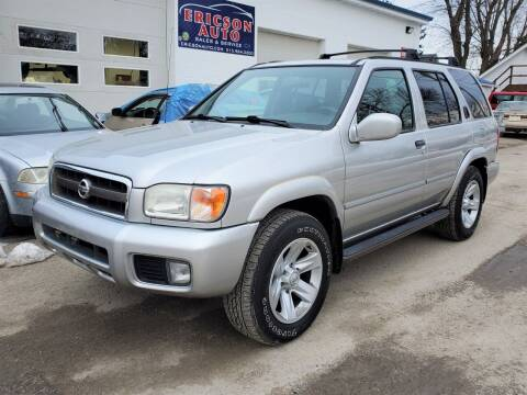 2003 Nissan Pathfinder for sale at Ericson Auto in Ankeny IA