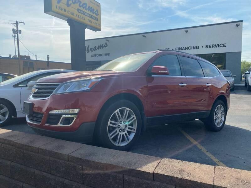 2013 Chevrolet Traverse for sale at Abrams Automotive Inc in Cincinnati OH