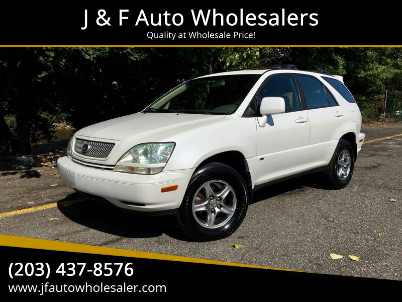 2002 Lexus RX 300 for sale at J & F Auto Wholesalers in Waterbury CT