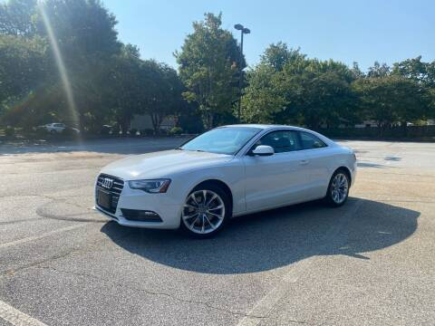 2014 Audi A5 for sale at Uniworld Auto Sales LLC. in Greensboro NC