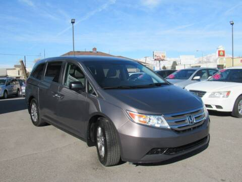 2012 Honda Odyssey for sale at Crown Auto in South Salt Lake City UT