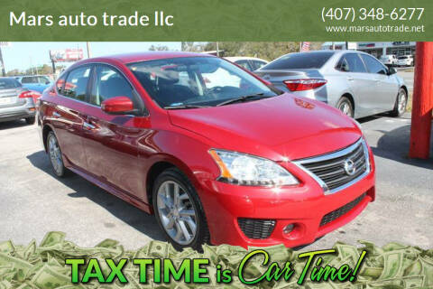 2013 Nissan Sentra for sale at Mars auto trade llc in Kissimmee FL