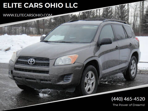 2009 Toyota RAV4 for sale at ELITE CARS OHIO LLC in Solon OH