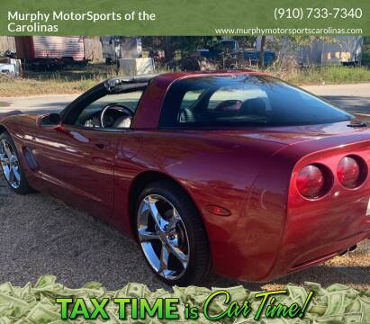 2001 Chevrolet Corvette for sale at Murphy MotorSports of the Carolinas in Parkton NC