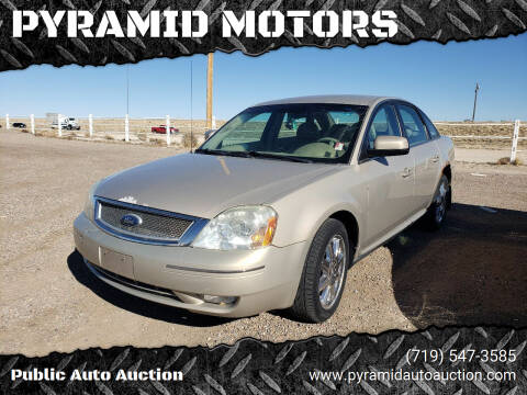 2007 Ford Five Hundred for sale at PYRAMID MOTORS - Pueblo Lot in Pueblo CO