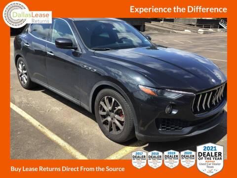 2017 Maserati Levante for sale at Dallas Auto Finance in Dallas TX