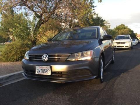 2015 Volkswagen Jetta for sale at Del Sol Auto Sales in Las Vegas NV