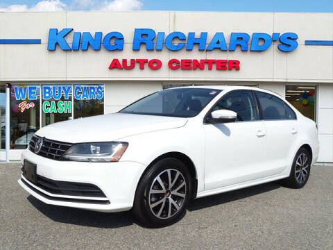 2018 Volkswagen Jetta for sale at KING RICHARDS AUTO CENTER in East Providence RI