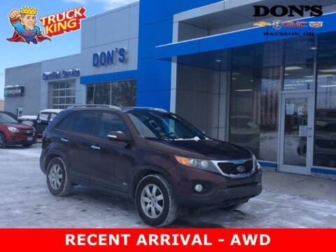 2012 Kia Sorento for sale at DON'S CHEVY, BUICK-GMC & CADILLAC in Wauseon OH