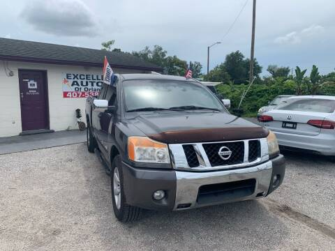 2011 Nissan Titan for sale at Excellent Autos of Orlando in Orlando FL