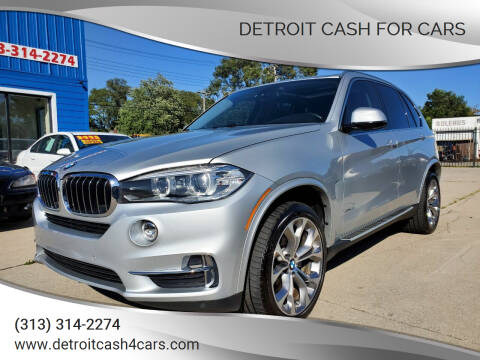 2014 BMW X5 for sale at Detroit Cash for Cars in Warren MI