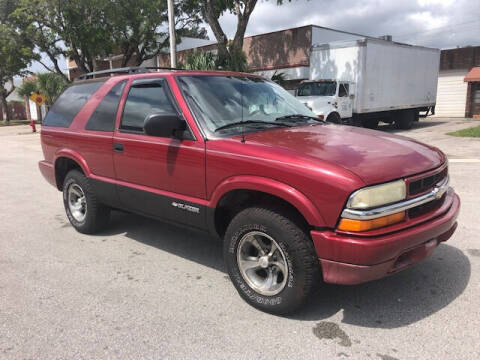 2003 Chevrolet Blazer for sale at Florida Cool Cars in Fort Lauderdale FL