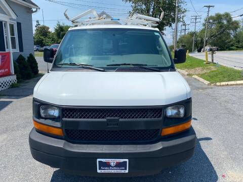2016 Chevrolet Express Cargo for sale at Fuentes Brothers Auto Sales in Jessup MD