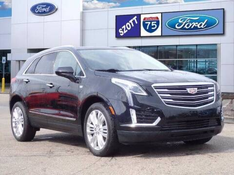 2018 Cadillac XT5 for sale at Szott Ford in Holly MI