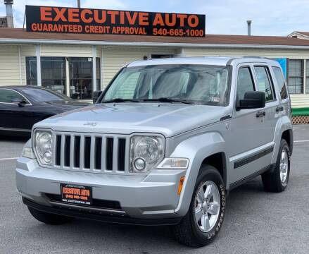 2011 Jeep Liberty for sale at Executive Auto in Winchester VA