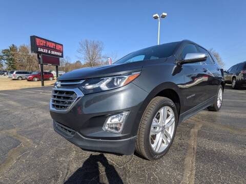 2018 Chevrolet Equinox for sale at West Point Auto Sales in Mattawan MI