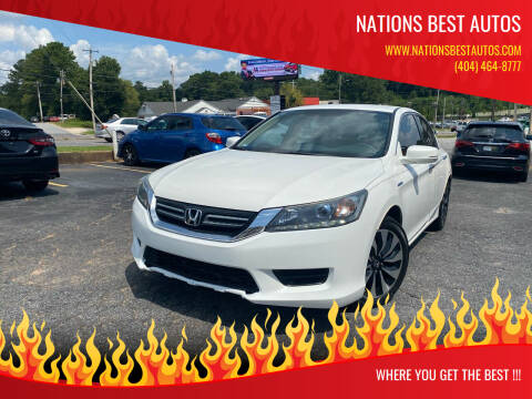 2014 Honda Accord Hybrid for sale at Nations Best Autos in Decatur GA