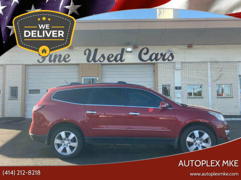 2014 Chevrolet Traverse for sale at Autoplexwest in Milwaukee WI