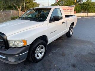 2002 Dodge Ram Pickup 1500 for sale at Turnpike Motors in Pompano Beach FL