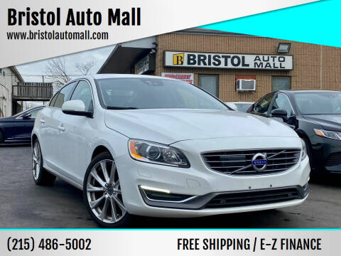 2016 Volvo S60 for sale at Bristol Auto Mall in Levittown PA